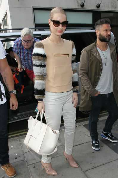 London Celebrity Sightings -  September 18, 2014