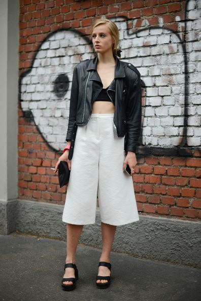 Street Style - Day 2 - Milan Fashion Week Womenswear Spring/Summer 2015