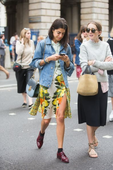Bloggers At London Fashion Week SS15