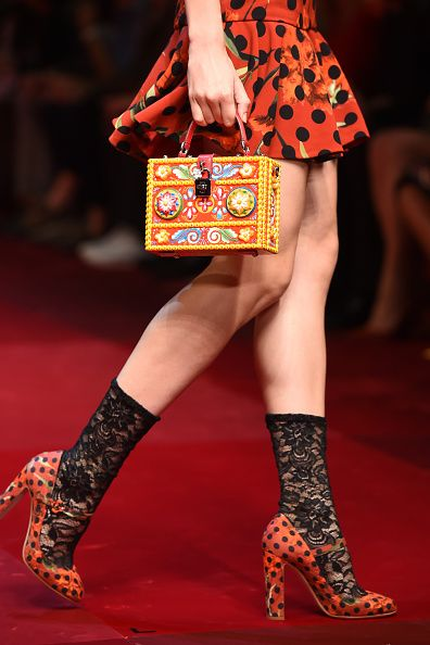 Dolce & Gabbana - Runway - Milan Fashion Week Womenswear Spring/Summer 2015