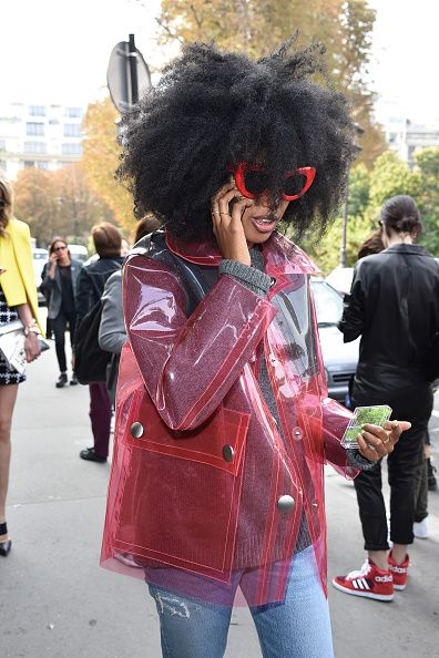 Celebrity Sighting At Paris Fashion Week, Womenswear SS 2015 : September 24th