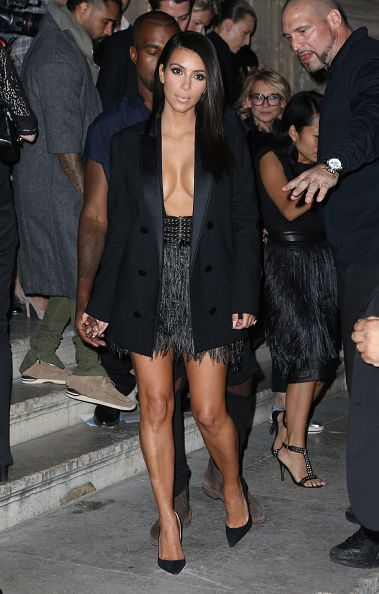 Celebrity Sighting At Paris Fashion Week, Womenswear SS 2015 : September 25th