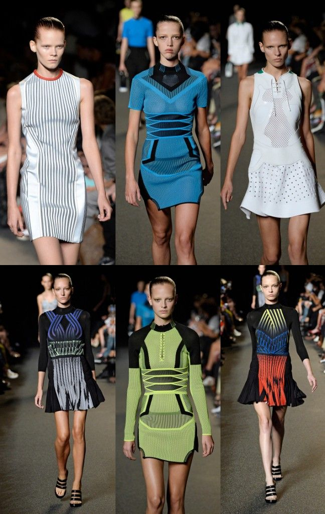 Alexander Wang SS15: (Mini) Dresses