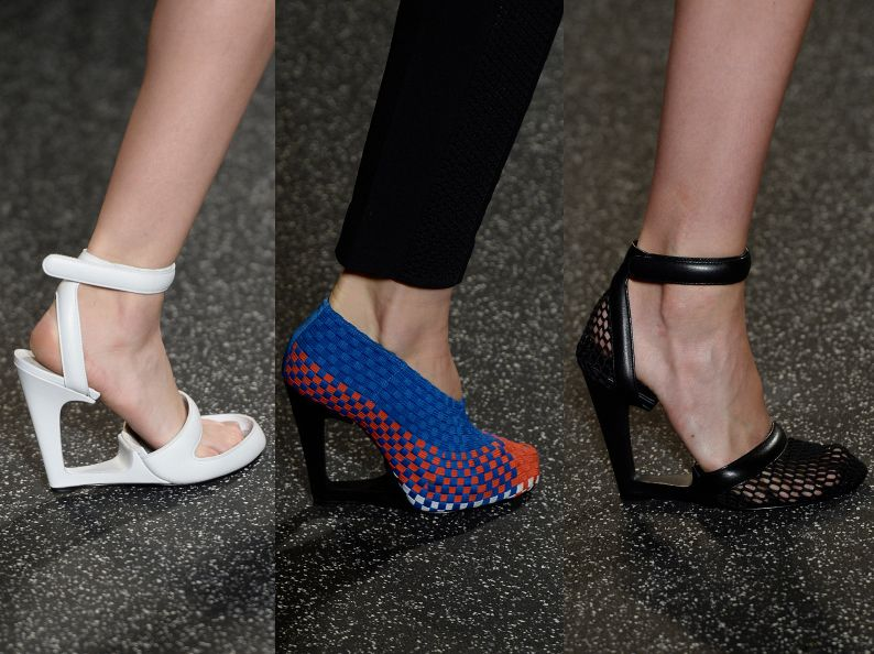 Alexander Wang SS15: shoes