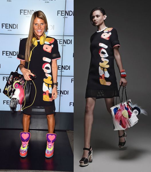Anna dello Russo in Fendi Resort 2015
