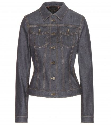 Burberry Prorsum denim jacket available at MYTHERESA.com