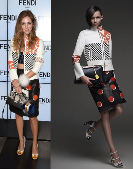 Chiara Ferragni in Fendi Resort 2015