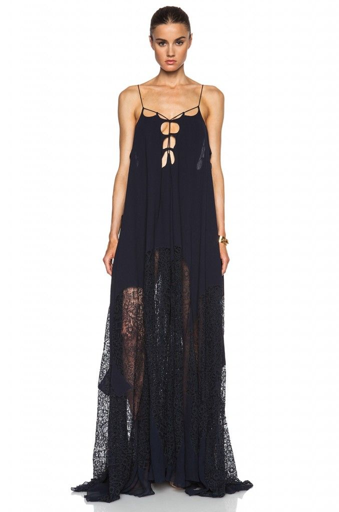 Chloé cotton vile dress available at FORWARD BY ELYSE WALKER