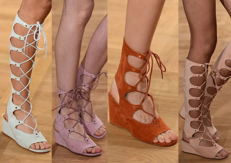Chloe : Runway - Paris Fashion Week Womenswear Spring/Summer 2015