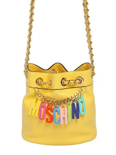 moschino-small-logo-charms-leather-bucket-bag-spring-summer-2015
