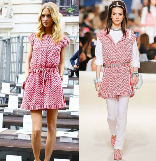 Poppy Delevingne in Chanel Resort 2015