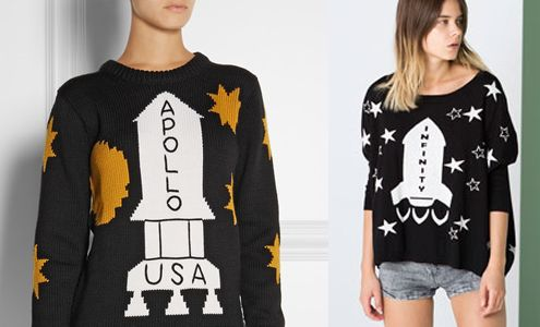 Coach Fw14 Rocket Sweater Inspired By The Shining Lands At Bershka