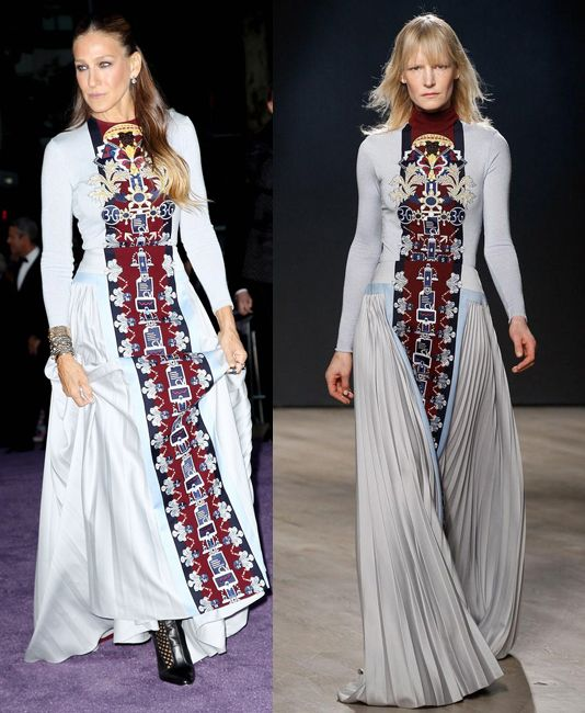 sarah-jessica-parker-in-mary-katrantzou-at-nyc-ballet-fall-gala-2014