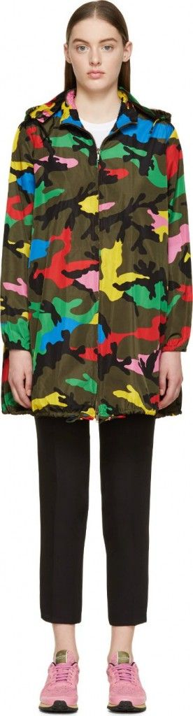 valentino-olive-green-and-multicolor-camouflage-k-way-jacket