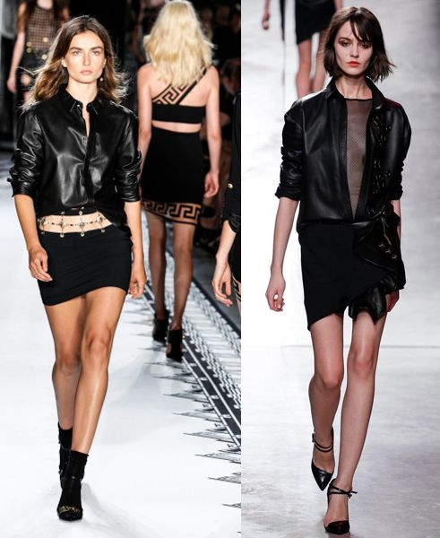 Versus Versace - Runway - Mercedes-Benz Fashion Week Spring 2015