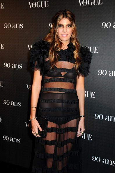 Bianca Brandolini d'Adda at the Vogue Paris 90th Anniversary Party in 2010