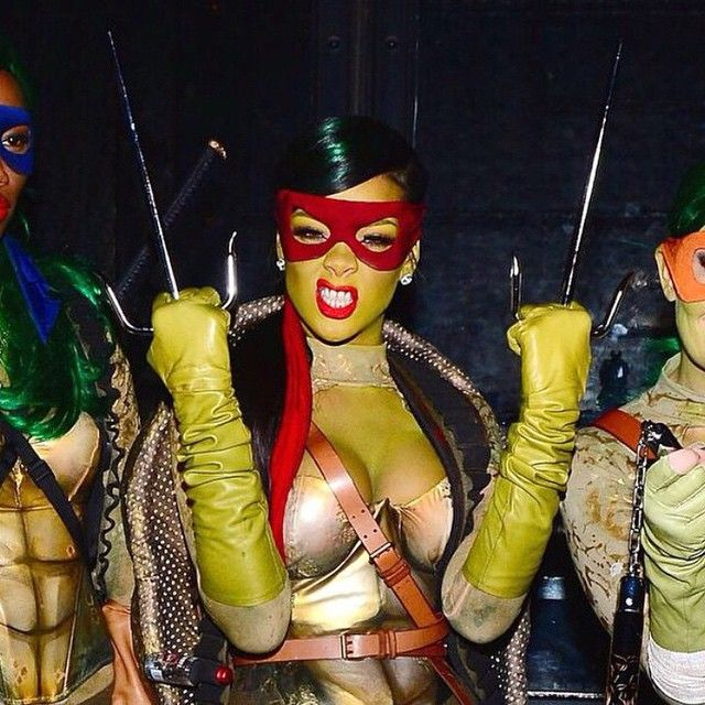 Rihanna as a Nina Turtle!
