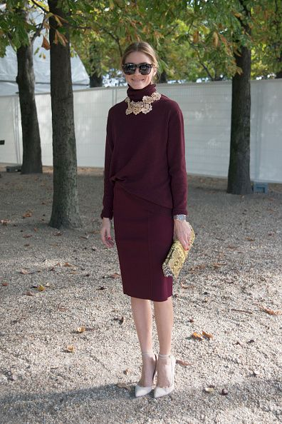 Olivia Palermo on Day 3 of PFW SS15