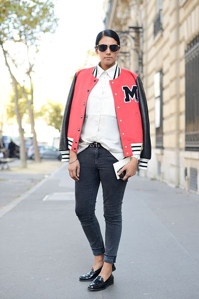 Street Style - Paris Fashion Week, Womenswear S/S 2015 : October 1st