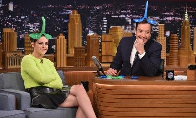 "Kristen Stewart Visits ""The Tonight Show Starring Jimmy Fallon"""