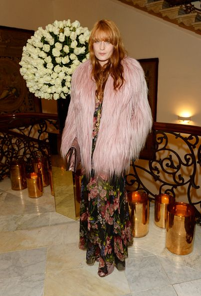Florence Welch in Gucci FW14