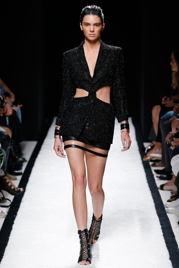 Balmain SS15 September 25, 2014 PFW