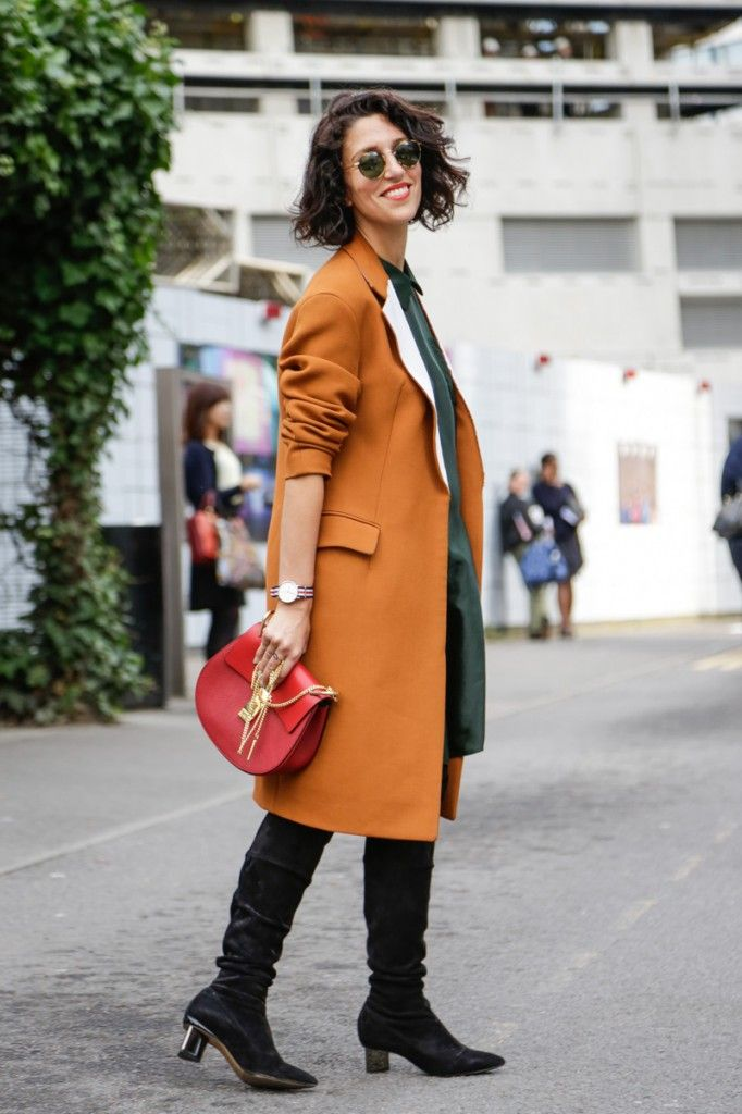 Yasmin Sewell during LFW SS15