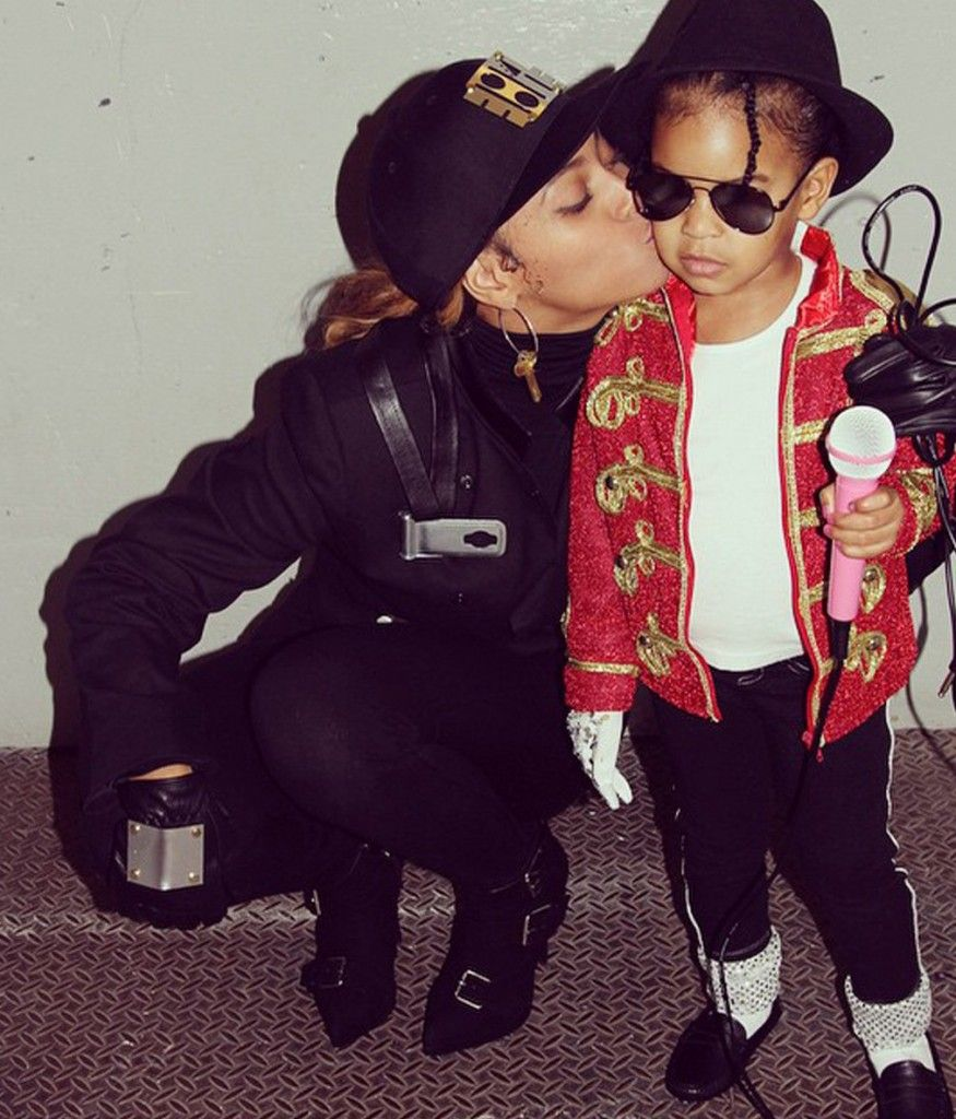 Beyoncé and Blue Ivy are Janet and Michael Jackson