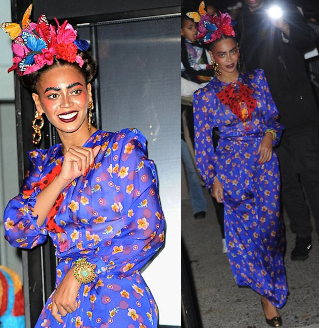 Beyoncé as Frida Kahlo