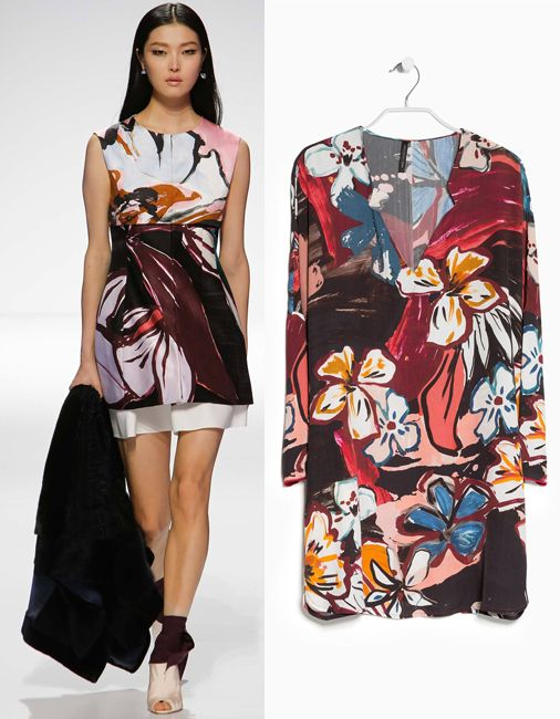 dior-resort-2015-vs-mango-fall-2014-floral-dress-copycat