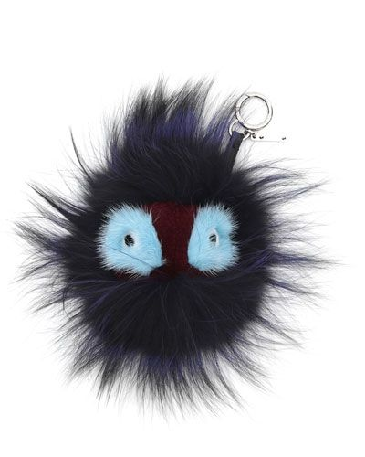 fendi-fur-monster-charm-for-handbag-blue