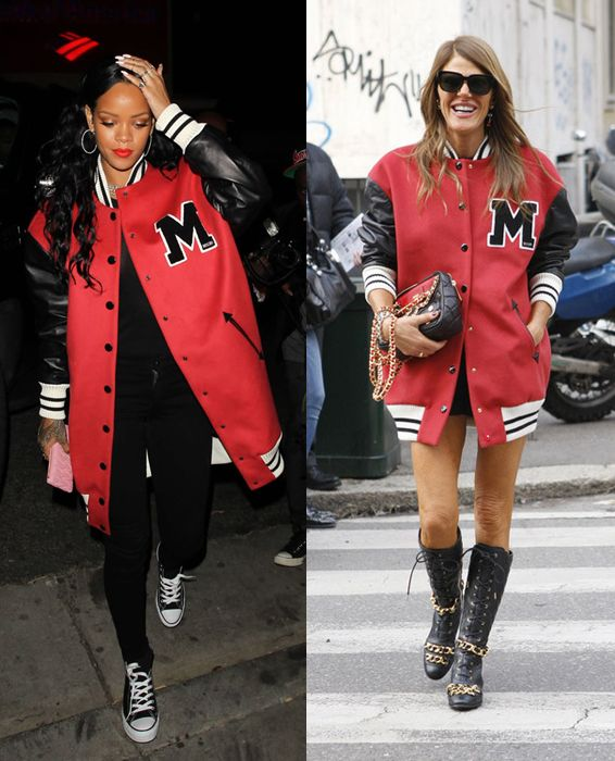 Rihanna and Anna dello Russo originally wore the jacket as a dress