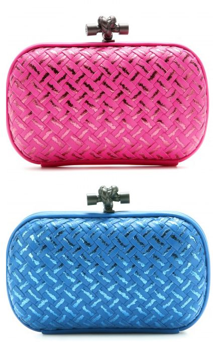 shop-bottega-veneta-knot-leather-clutch-pink-blue