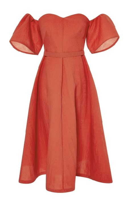 vika-gazinskaya-spring-summer-2015-cut-away-shoulder-red-dress