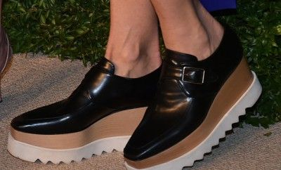 2ecf97505c03a How to sneak your Stella McCartney platform shoes into a formal  sophisticated outfit