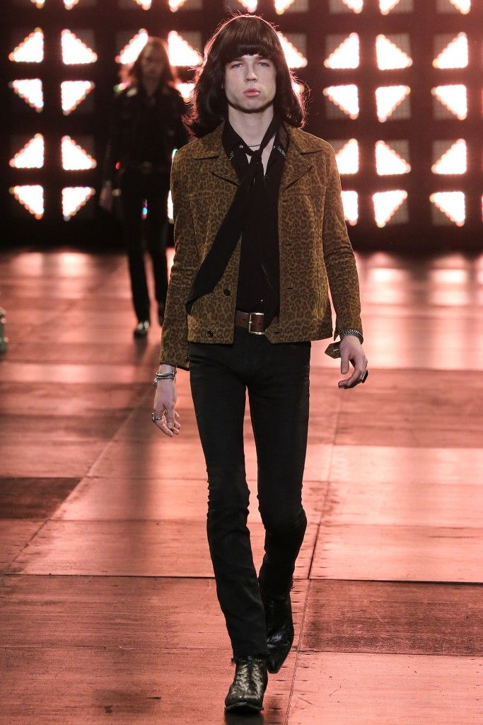 Menswear Saint Laurent Spring Summer 2015