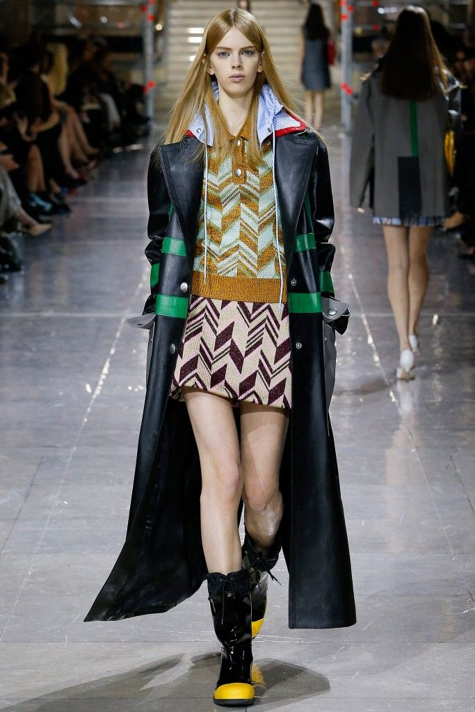1. Miu Miu Fashion Show styling