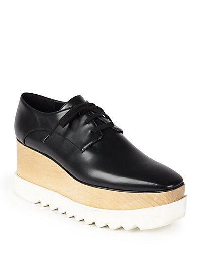 STELLA-MCCARTNEY-faux-leather-triple-sole -lace-up-shoes