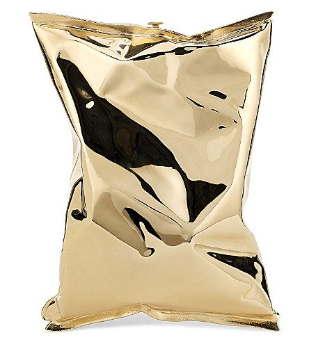 anya-hindmarch-personalised-crisp-packet-yellow-gold-clucth