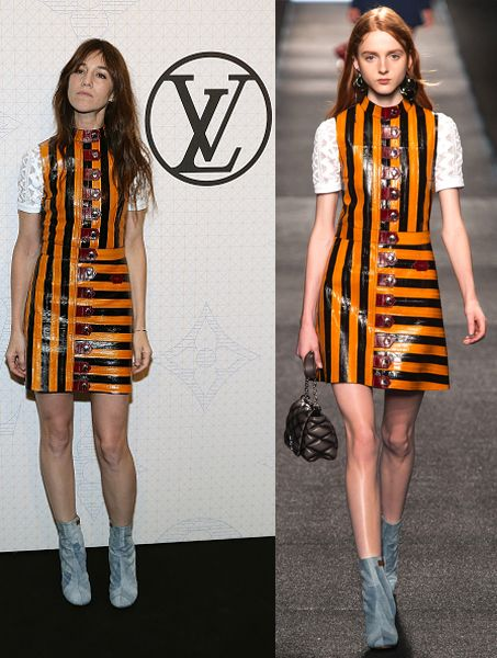 Charlotte Gainsbourg in Louis Vuitton SS15