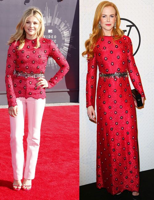 Chloë Moretz wore the original ensemble at the 2014 VMAs