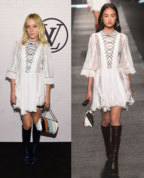 Chloë Sevigny in Louis Vuitton SS15