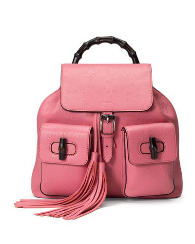 gucci-bamboo-sac-leather-backpack-coral-pink
