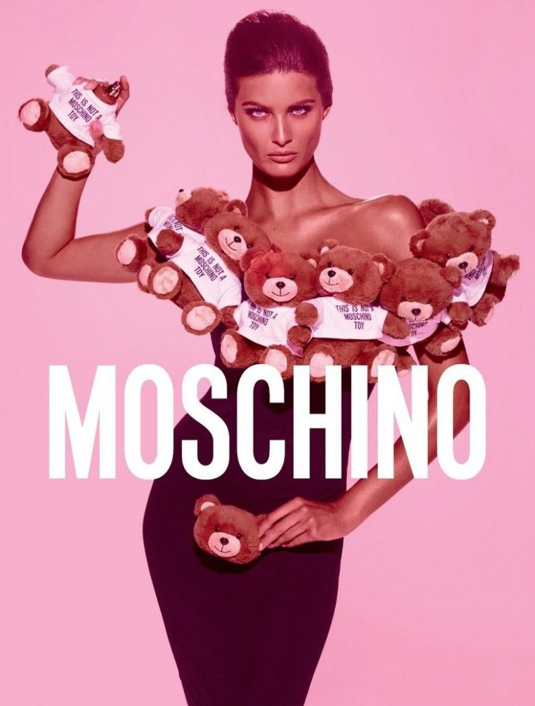 Isabeli Fontana X Moschino Toy fragrance by Steven Meisel