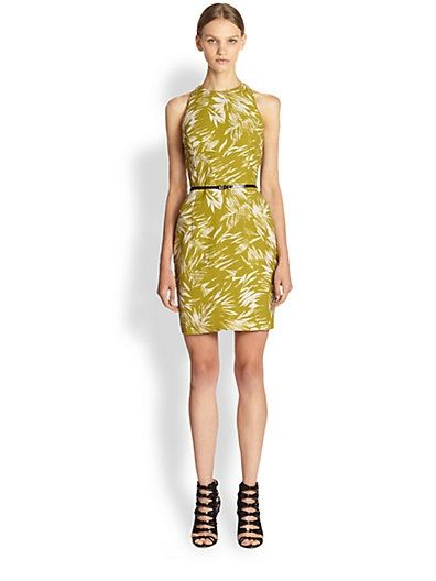 Jason Wu Dresses On Sale Jason Wu botanical linen crepe