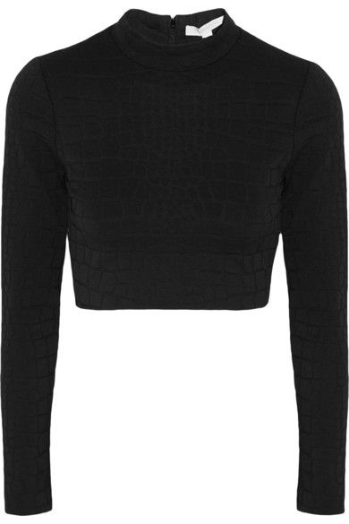 jonathan-simkhai-cropped-embossed-stretch-jersey-top