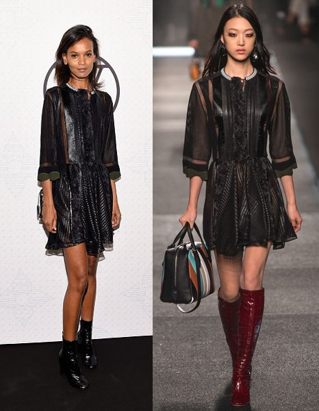 Liya Kebede in Louis Vuitton SS15