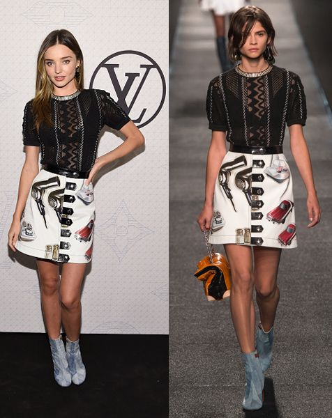 Miranda Kerr in Louis Vuitton SS15