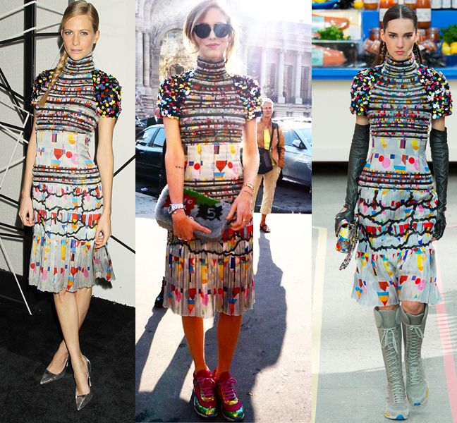 poppy-delevingne-chiara-ferragni-chanel-fw14-dress