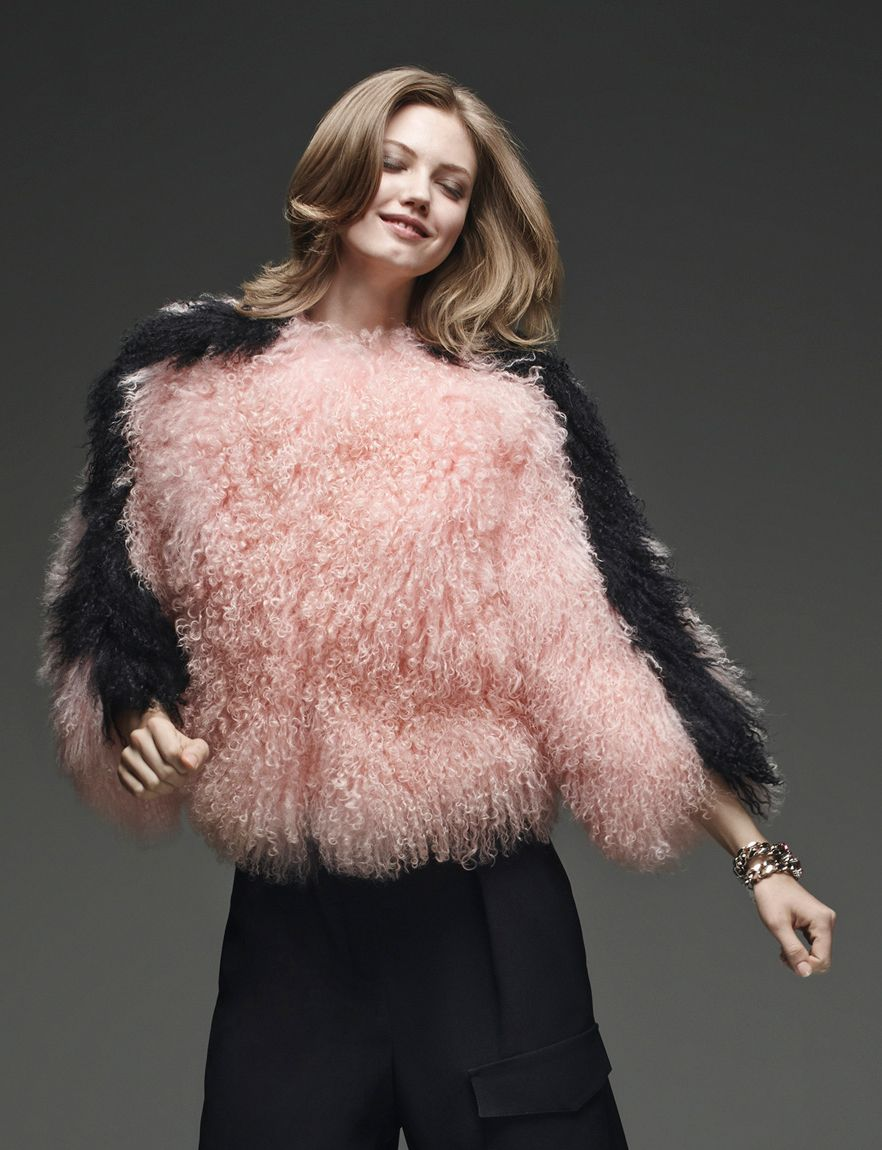 Fur Monsters Take Over Fendi Pre Fall 2015 Collection